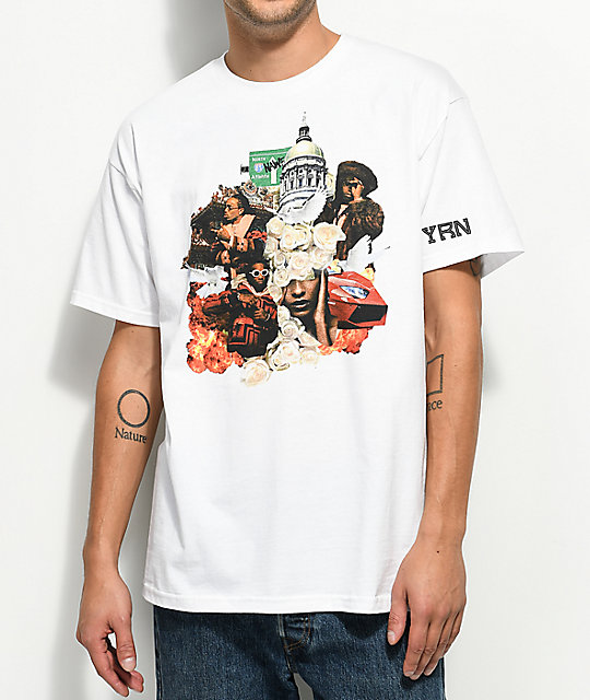 YRN Culture Album White T-Shirt