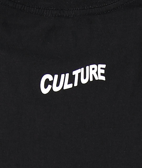 YRN Culture Album camiseta negra