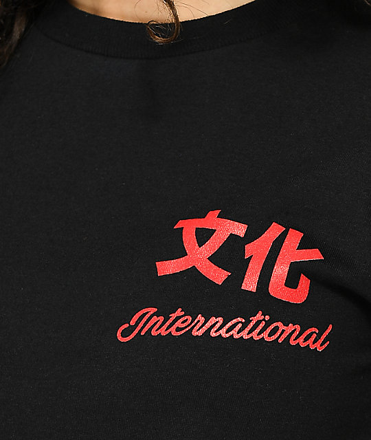 YRN Culture International Black T-Shirt