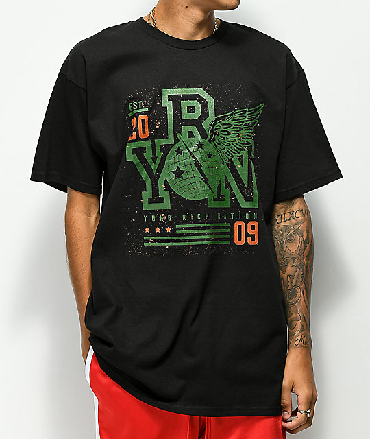 YRN Global Force camiseta negra