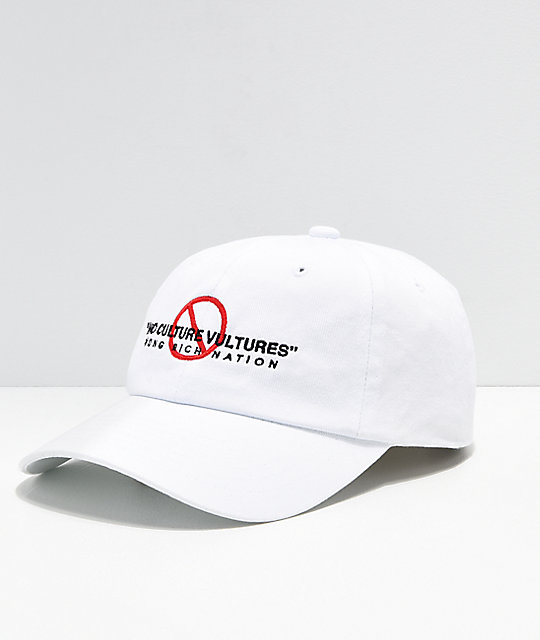 YRN No Culture Vultures gorra blanca