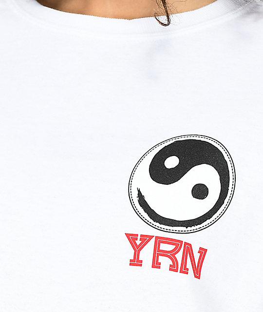 YRN Poster White Long Sleeve T-Shirt
