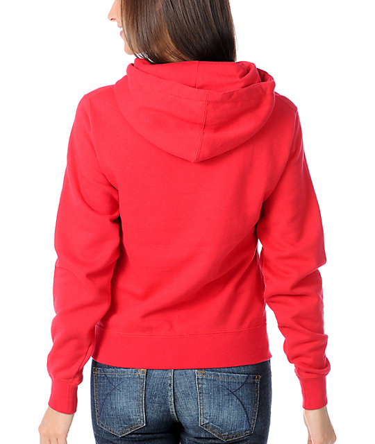 Young & Reckless 80s Red Pullover Hoodie