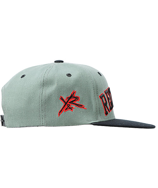 Young & Reckless Block Grey & Black Snapback Hat