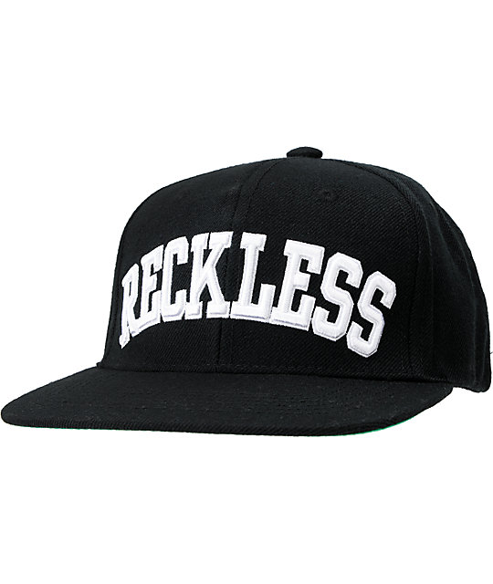 762bc7d6d2f sweden young reckless block black white snapback hat 366fb 4f44f
