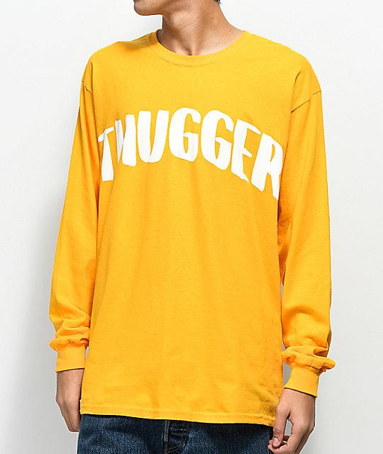 ... Young Thug Thugger Snake Yellow Long Sleeve T-Shirt ... 1bc49ba3fa9