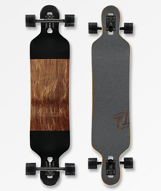 "Z-Flex Chisel 41"" Drop Through Longboard Complete"