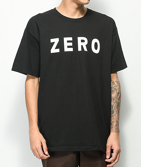 Zero Army Black T-Shirt