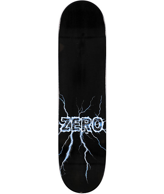 "Zero Lightning Blue 8.0""  Skateboard Deck"
