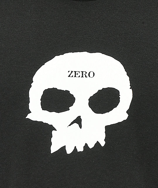 Zero Multi Skull Black Long Sleeve T-Shirt