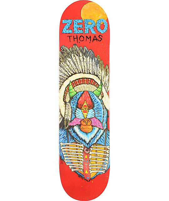 "Zero Thomas Cosmic War 8.0""  Skateboard Deck"
