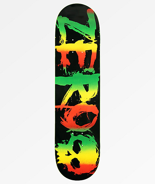 Zero Tommy Sandoval Rasta Blood 8.0 Skateboard Deck
