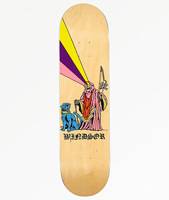Zero Windsor James Boss Dog 8.0 Skateboard Deck