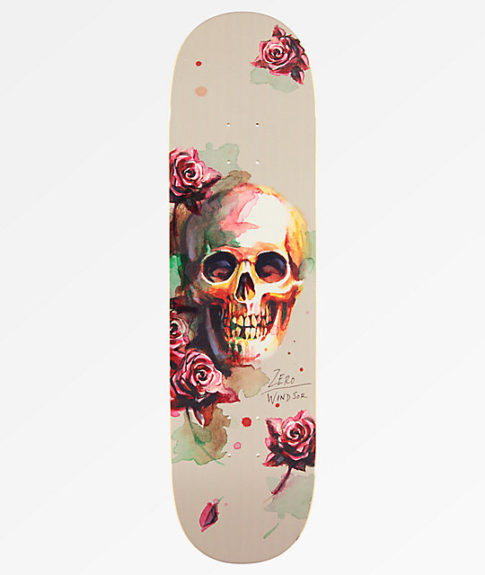 "Zero Windsor Let It Bleed 8.5"" tabla de skate"