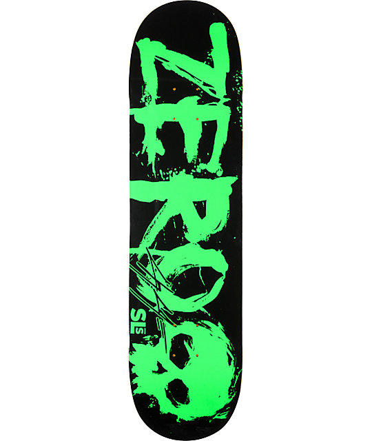 "Zero x Street League Cole Bold Green 8.0""  Skateboard Deck"