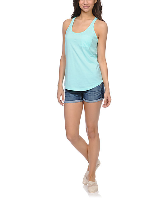 Zine Aruba Blue Tank Top