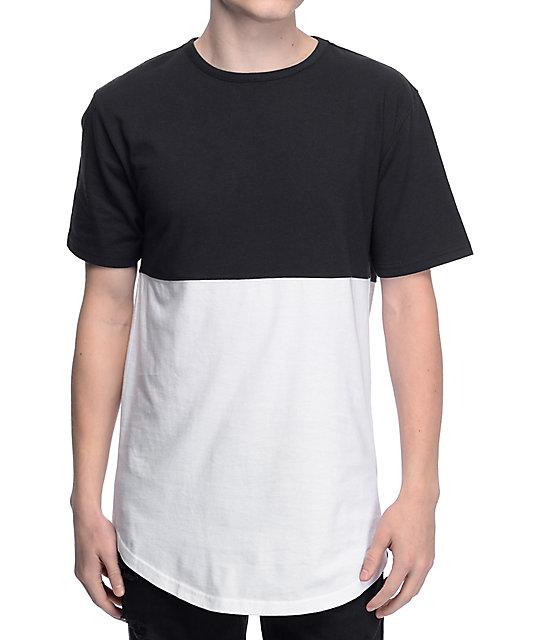 53854e5b67a Zine Better Half Black   White T-Shirt
