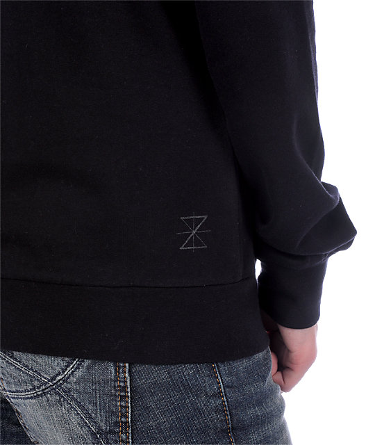 Zine Black Sweatshirt