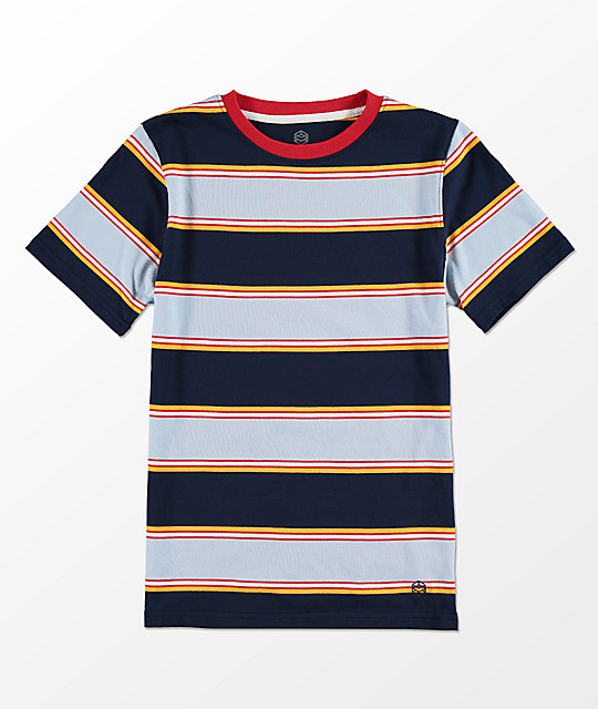 Zine Boys Bonus Blue Stripe T-Shirt