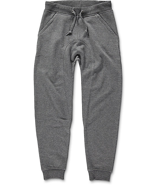 Zine Boys Cover Charcoal Jogger Pants