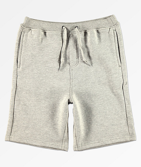 Zine Boys Damon Heather Grey Sweat Shorts