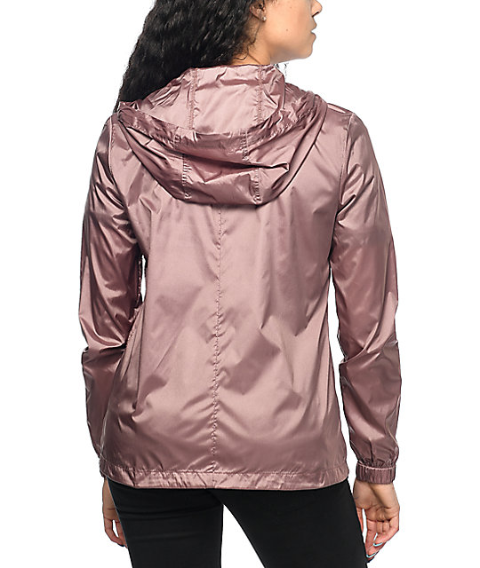 Zine Calla Rose Full Zip Windbreaker