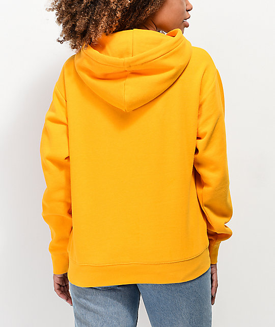 Zine Clouis Inset Taped Gold Hoodie
