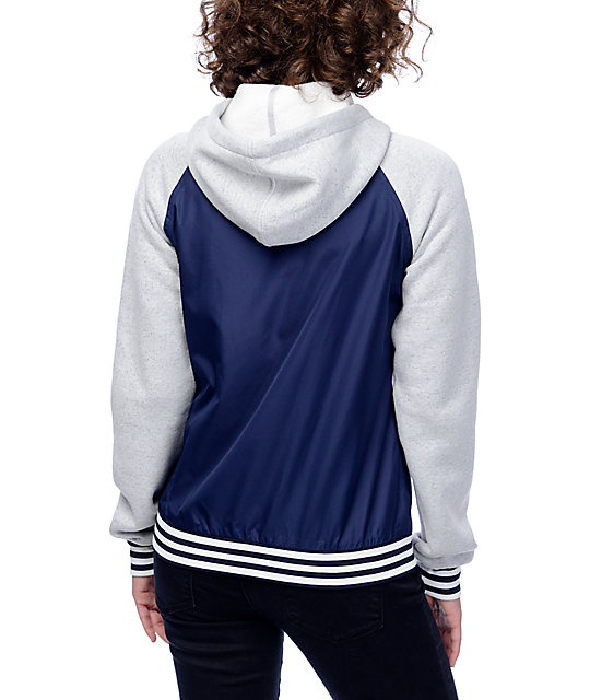 Zine Davina Navy & Grey Windbreaker Jacket