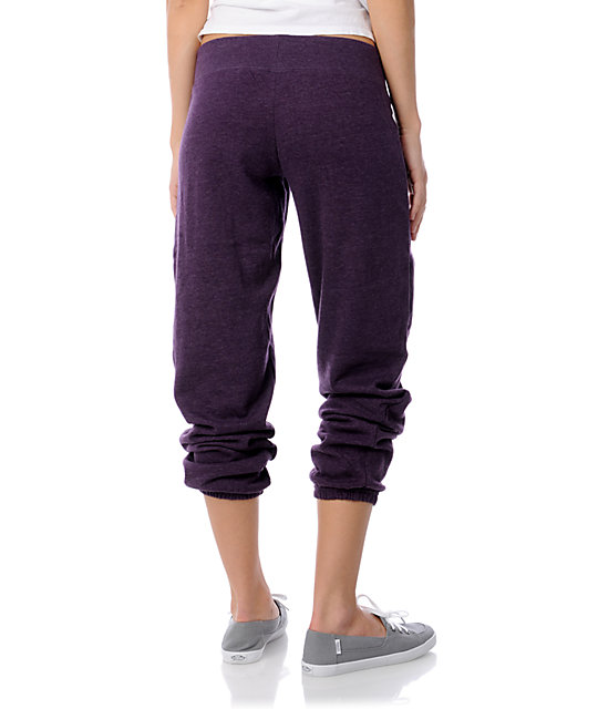 Zine Heather Purple Sweatpants