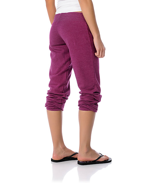 Zine Magenta Heather Sweatpants