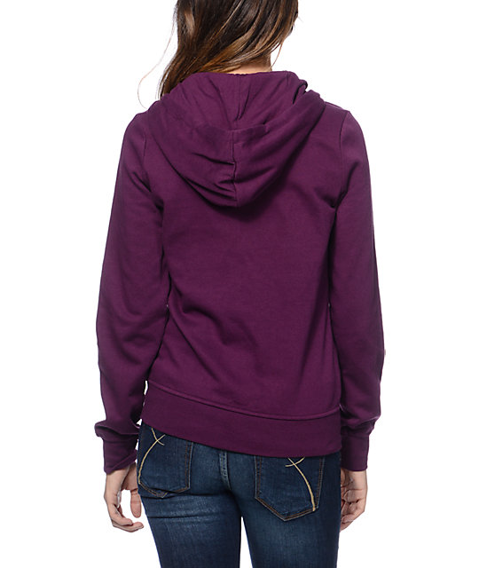 Zine Potent Purple Zip Up Hoodie
