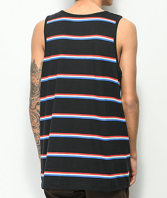 Zine Roco Black Stripe Tank Top