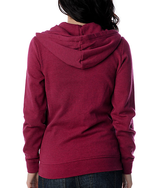 Zine Rumba Heather Red Hoodie