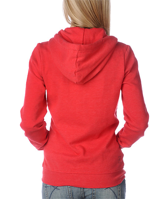Zine Tango Heather Red Hoodie