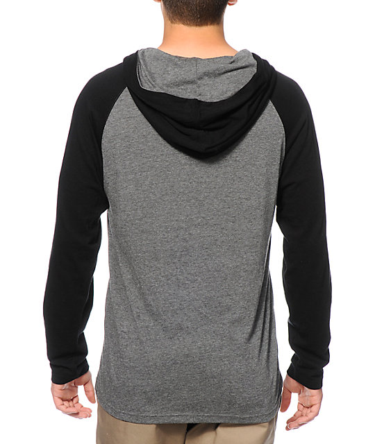 Zine Tracer Hooded Henley Shirt