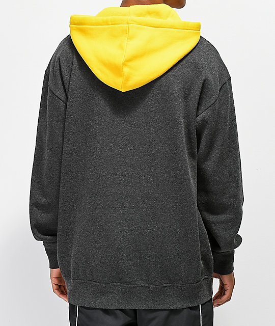 Zine Utmost Gold & Grey Hoodie