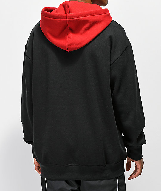 save up to 80% modern and elegant in fashion hot-selling newest Zine Utmost Red & Black Hoodie