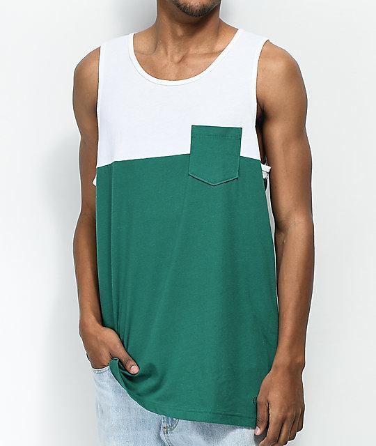 adidas Camiseta Tirantes (Tank Top) Blocked Blanco Talla: 32