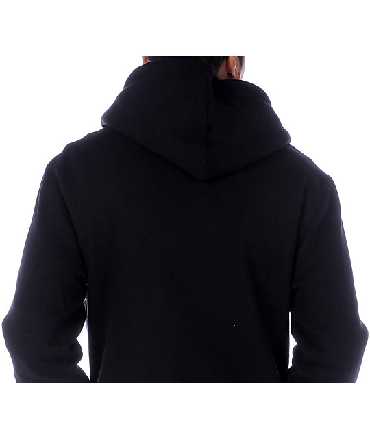 Zoo York Straight Core Black Hoodie