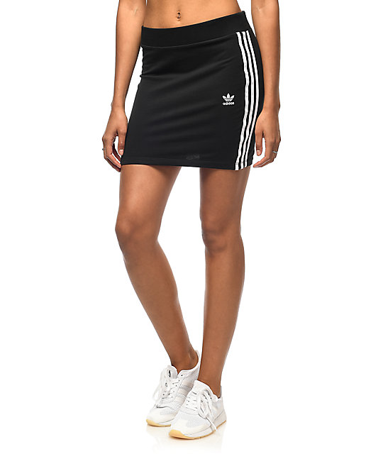 Mini Skirt With Tennis Shoes