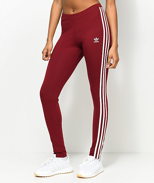 3 stripe adidas leggings