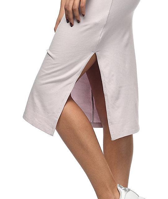 713aa21120 ... adidas 3 Stripe Lavender Midi Dress