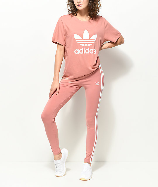 adidas shirt and leggings