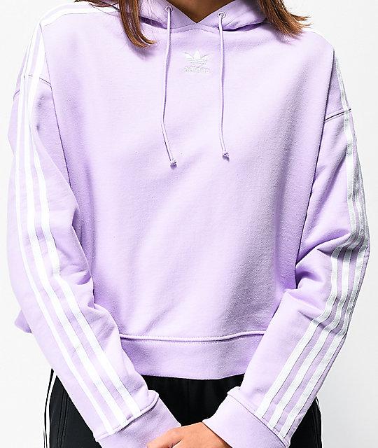 adidas hoodie violet