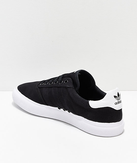 adidas 3MC Black & White Shoes