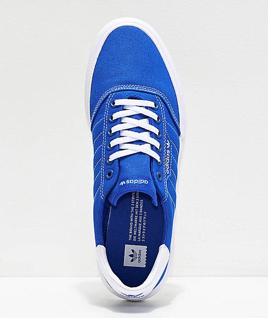 adidas 3MC Blue & White Shoes