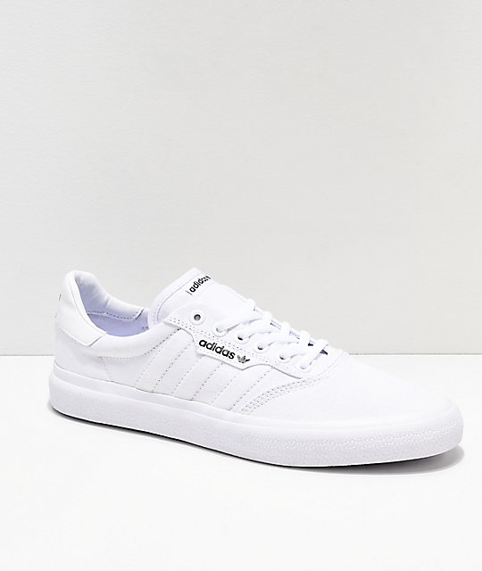 wide varieties wide varieties sleek adidas 3MC White Shoes