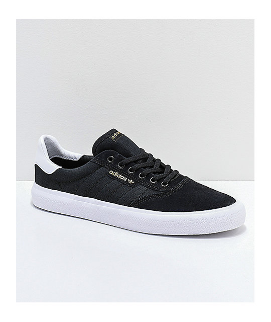 the latest f5f4a 871cb adidas 3MC zapatos negros y blancos ...