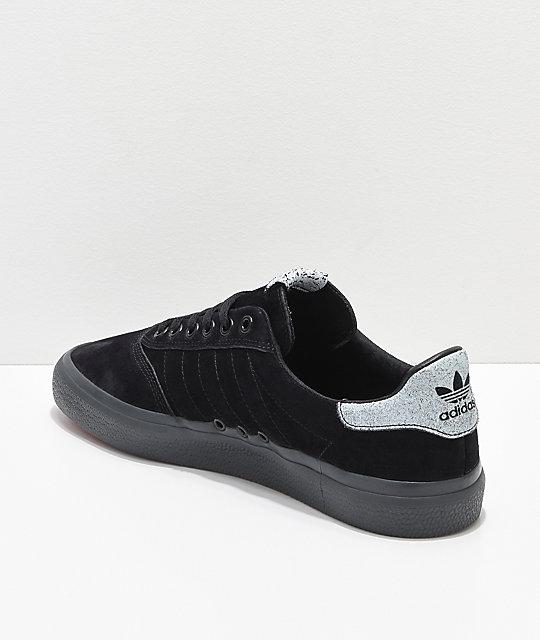new arrival fe965 9ab01 ... adidas 3MC zapatos negros y grises ...