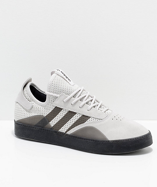 adidas 3ST.001 Grey & Black Shoes ...